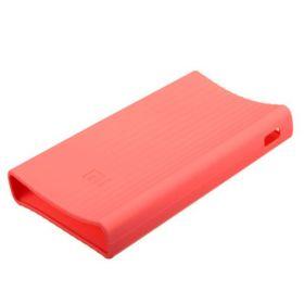 Силиконовый чехол для Xiaomi Power Bank 20000 mAh (Розовый)