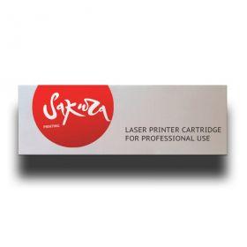 CB402A Картридж Sakura Printing для лазерного принтера HPColor LaserJet CP4005/CP4005n/CP4005dn