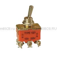 Тумблер 1321 ВКЛ-ВКЛ 16А 250в SASSIN