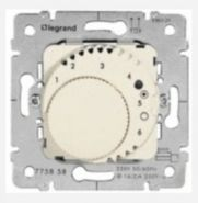 Терморегулятор Legrand Galea Life для теплых полов White (арт.775858)