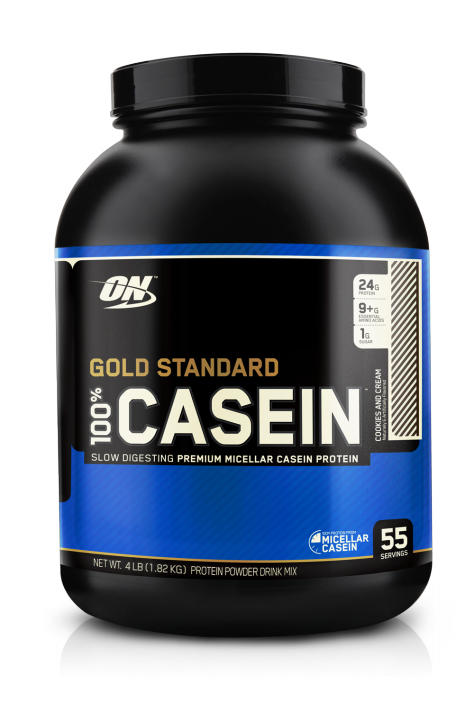 OPTIMUM NUTRITION 100% Casein Protein 4 lb (1,82кг.) - Chocolate Supreme - шоколад скл2 1-2 дня
