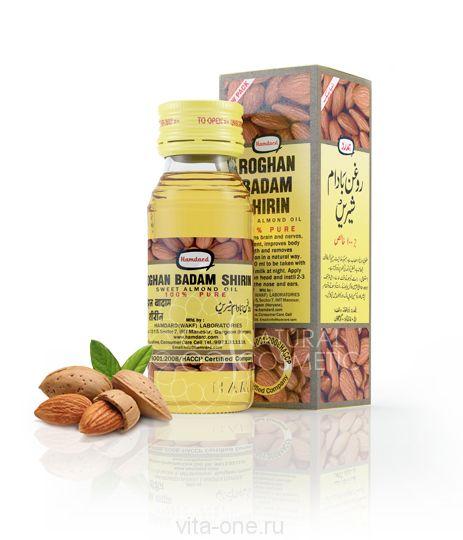 Миндальное масло Roghan Badam Shirin 25 мл
