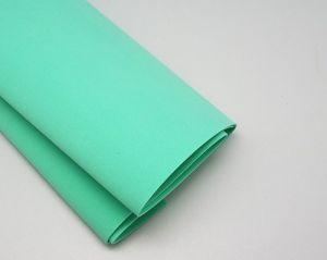 Фоамиран Иранский, толщина 1 мм, размер 60х70 см, цвет мятный (1 уп = 5 листов)