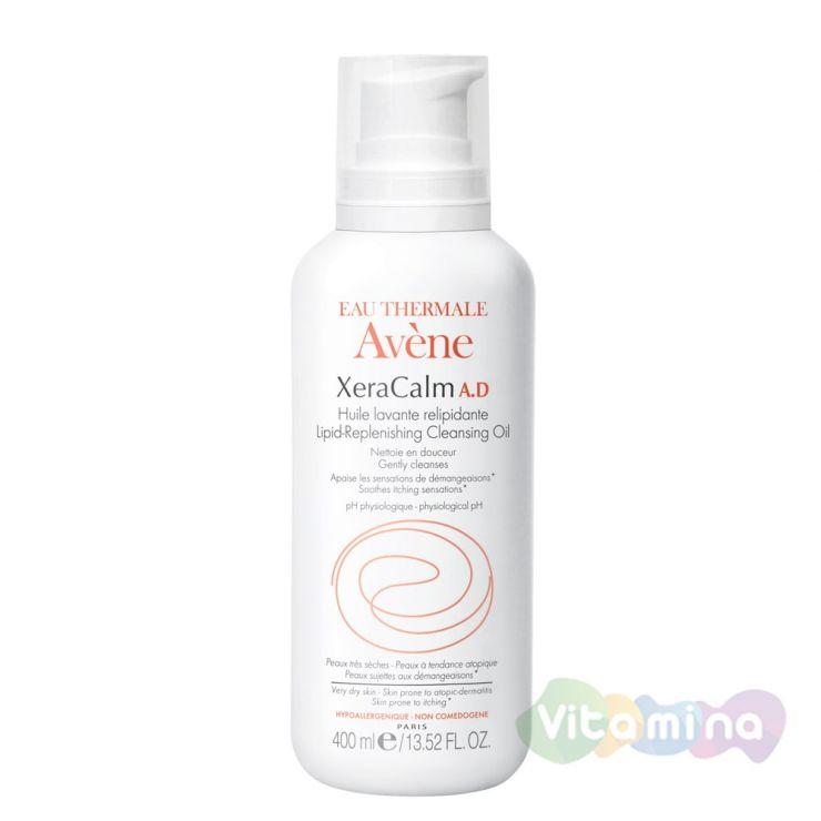 Avene Xeracalm A.D Очищающее липидовосполняющее масло