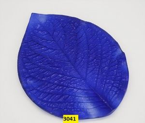 "`Молд для фоамирана ""Лист гортензии, L"", белый пластик, размер 160х115 мм"