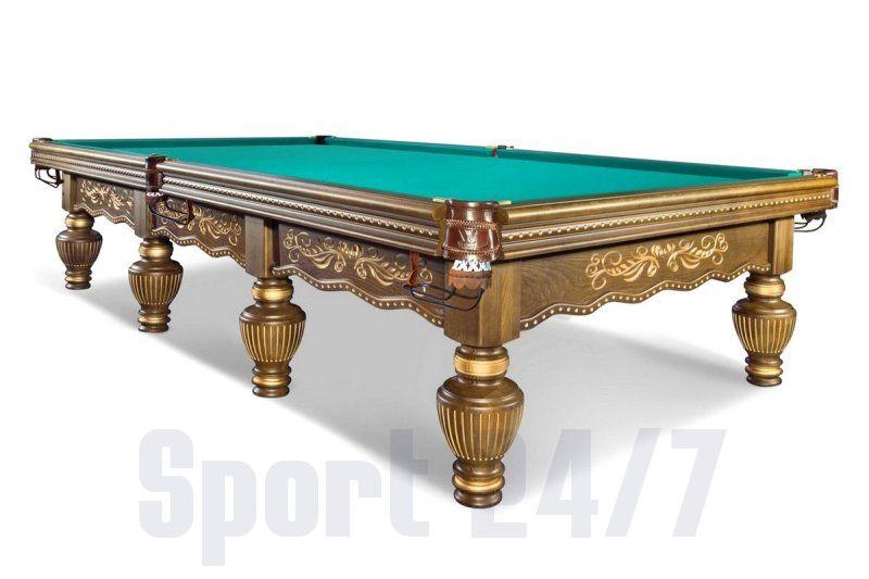 Бильярдный стол для русского бильярда «Империал» 12 футов (орех) 55.140.12.2