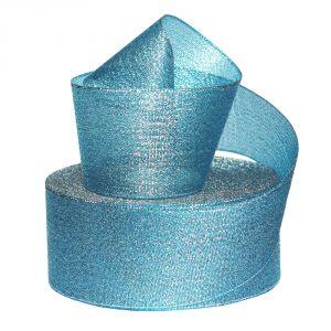 Лента металлизированная(парча) 50 мм, цвет: 3350 (Рулон 32,9 м)