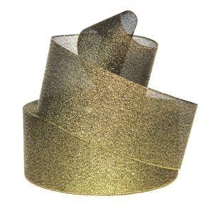 `Лента металлизированная(парча) 50 мм, цвет: 3354