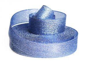 `Лента металлизированная(парча) 25 мм, цвет: 3348