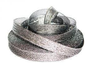 `Лента металлизированная(парча) 12 мм, цвет: 3346