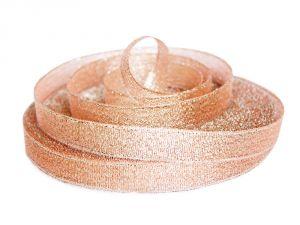 `Лента металлизированная(парча) 12 мм, цвет: 3340
