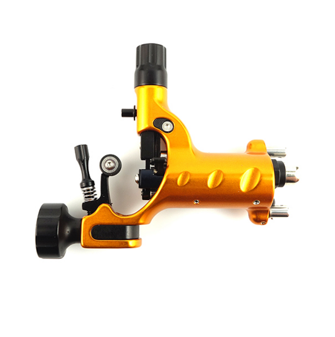Stingray Rotary Tattoo Machine X2 in Blazing Gold