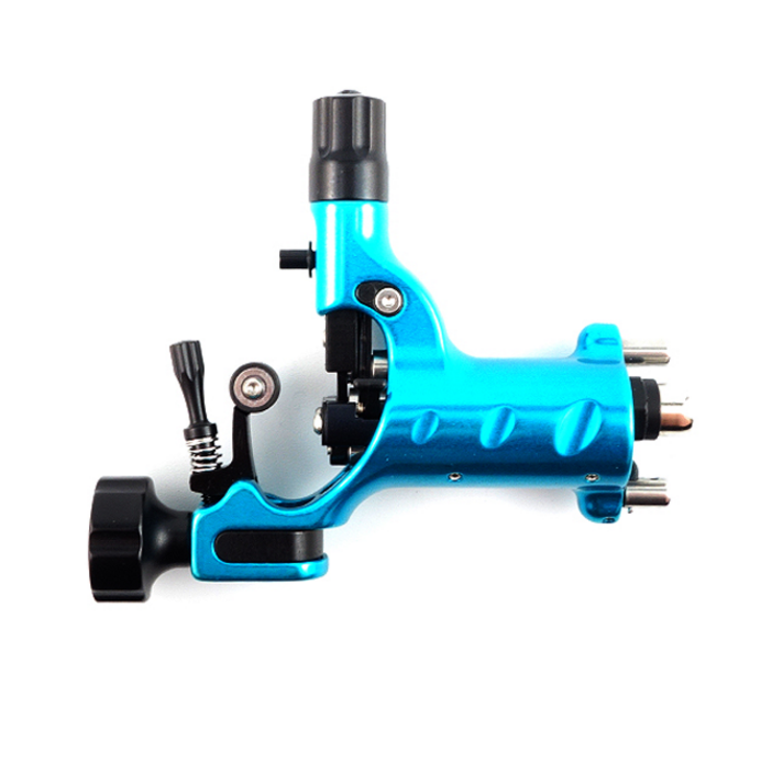 Stingray Rotary Tattoo Machine X2 in Cyanide Cyan