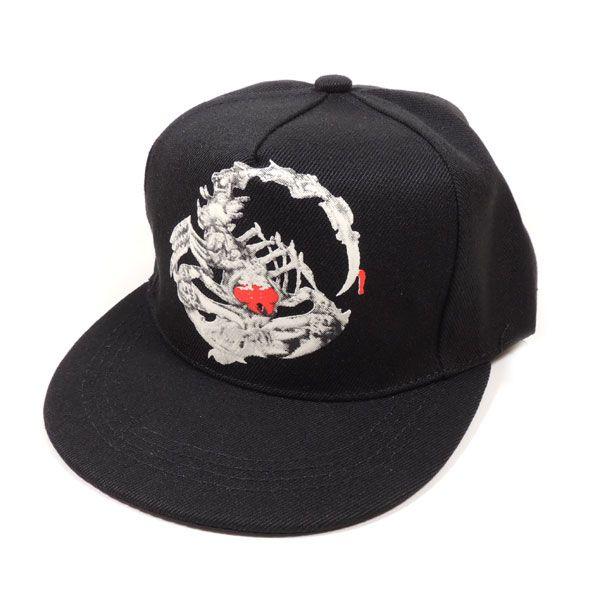 Светящаяся кепка рэперка со скорпионом