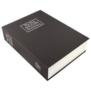 Книга сейф Английский словарь (черная, 26,5см)