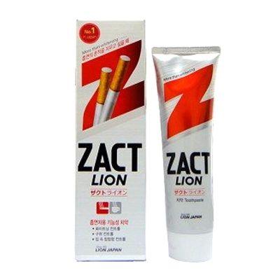 Зубная паста отбеливающая Zact Lion 150 г