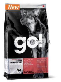 GO! NATURAL Holistic беззерновой для щенков и собак с лососем для чувствительного пищеварения