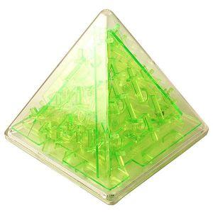 Головоломка Пирамида зеленая
