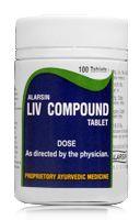 Alarsin LIV COMPOUND Liver Defoxifier - здоровая печень 100 таб