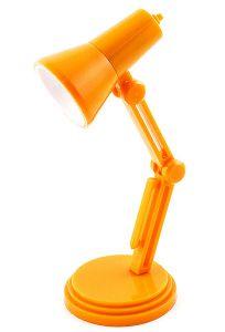 Светильник для чтения книг  Лампа оранжевая