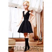 Коллекционная кукла Барби Классическое черное платье - Classic Black Dress Barbie Doll
