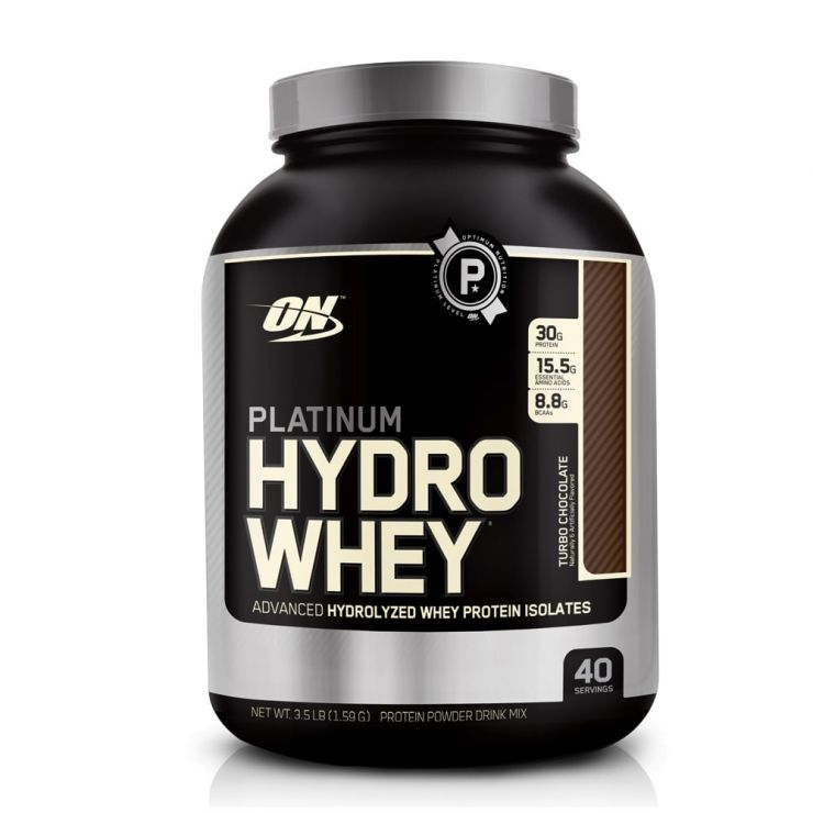 Протеин Optimum Nutrition Platinum HydroWhey 3.5 lb (1,5 кг)