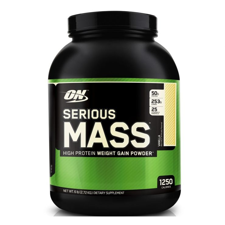 Гейнер Optimum Nutrition Serious Mass 6lb (2,72 кг)