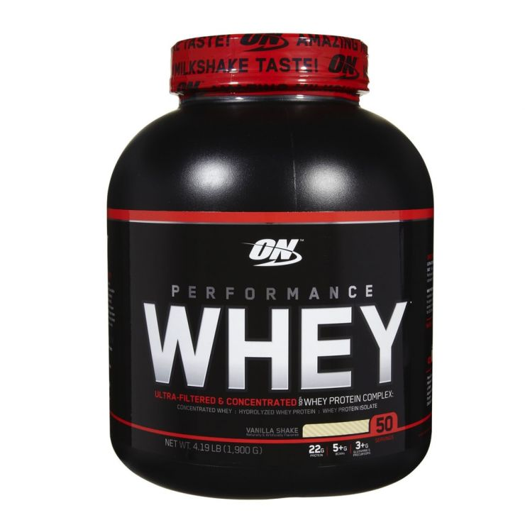 Протеин Optimum Nutrition Performance Whey 50 порций (serv)