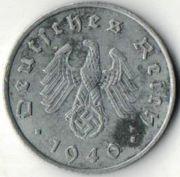 10 рейхспфеннигов. 1940 год. А. Германия.