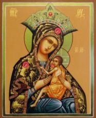 Арапетская икона Божией Матери (рукописная)