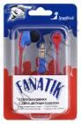 Наушники SmartBuy® FANATIK, плоский двухцветный провод: красный + синий вакуум. (арт.SBE-4100) СУПЕРЦЕНА !!!