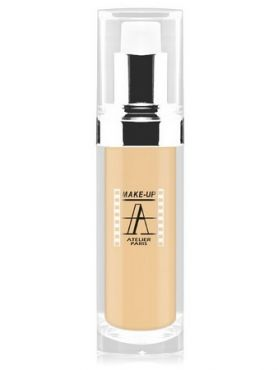 Make-Up Atelier Paris Fluid Foundation Gilded FLW1Y Yellow clear