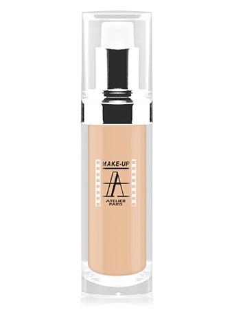 Make-Up Atelier Paris Fluid Foundation Apricot FLW1A apricot clear