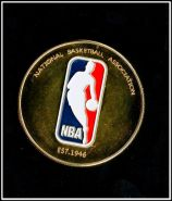 Майкл Джордан бежит с мячом НБА Баскетбол Спорт жетон цветной принт