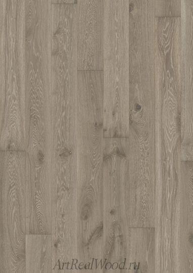 Паркетная доска Дуб Серый (Gray) Kahrs