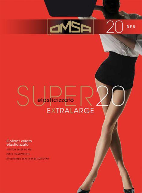 Колготки макси Super 20 XL Omsa