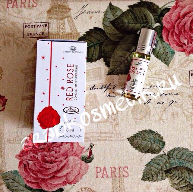 "Al Rehab 6ml. ""Red Rose"""