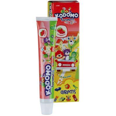 Lion Kodomo Детская зубная паста + игрушка
