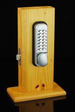 Ручка для дверного замка с кодом.