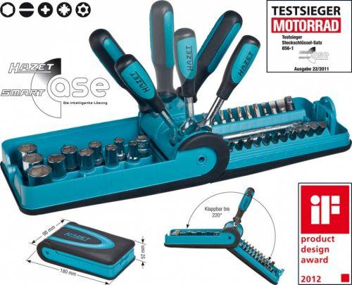 Набор бит HAZET 856-1 из 38 шт. в кассете Smartcase
