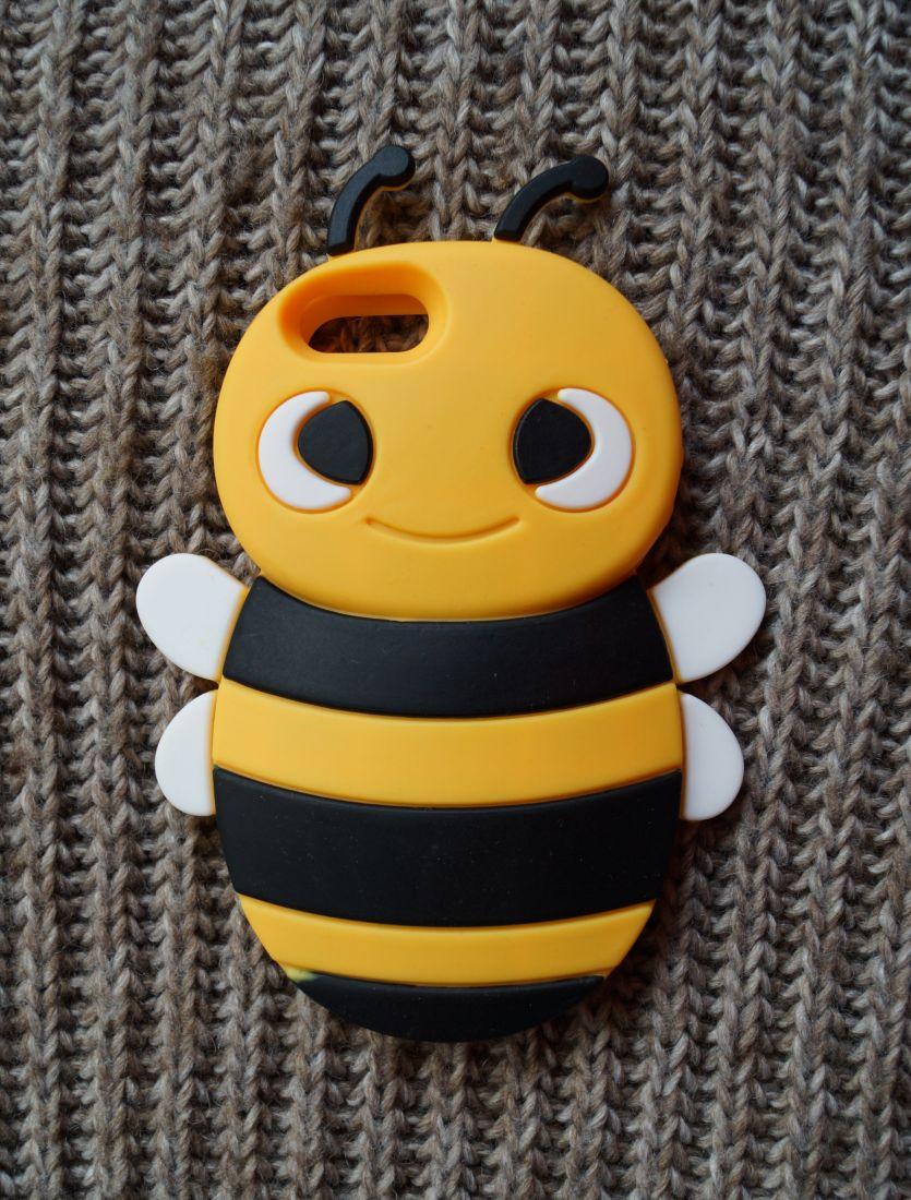 Чехол для Apple iPhone 5/5s Пчела