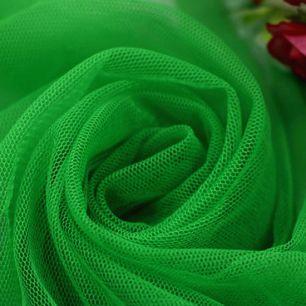 Мягкий фатин (еврофатин) 300х25 см - сочный зеленый