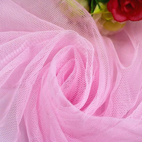 Мягкий фатин Пастель- нежно-розовый