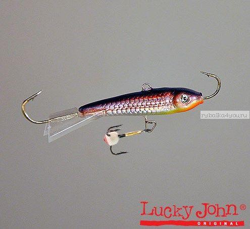 Балансир Lucky John Classic 6 + тр. 60 мм / 18 грамм цвет: 03H  - купить со скидкой