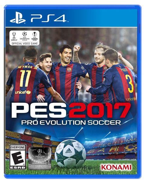 Игра Pro Evolution Soccer 2017 (PES 17) (PS4)