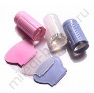 Штамп для стемпинга с прозрачной силиконовой подушечкой