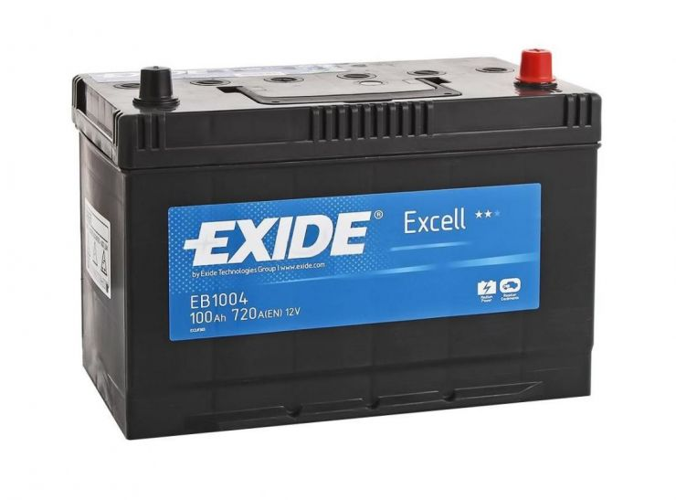 Автомобильный аккумулятор АКБ Exide (Эксайд) Excell EB1004 100Ач о.п.