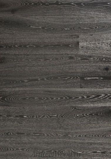Паркетная доска Дуб Stonewashed Platinum Karelia