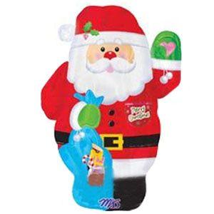 Шар Дед Мороз фольгированный шар с гелием