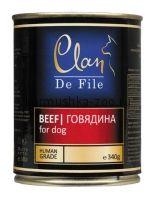 Clan De File консервы для собак (с говядиной)